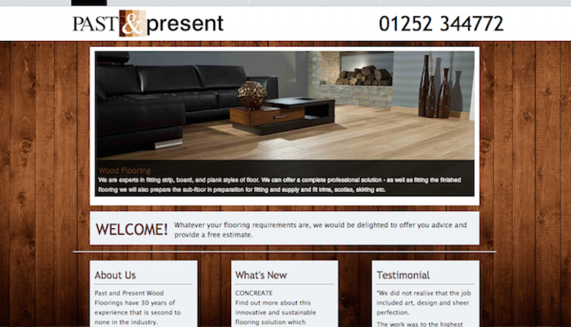 Past and Present Flooring Website