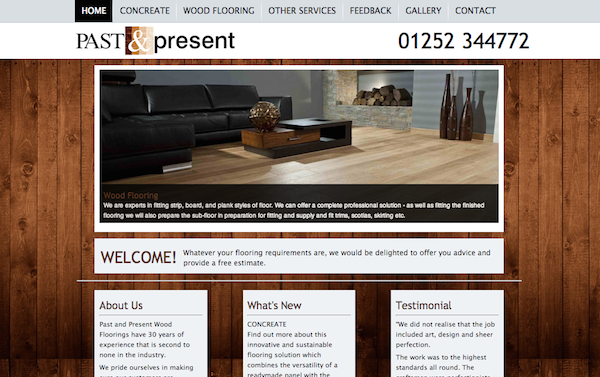 Past and Present Flooring Website