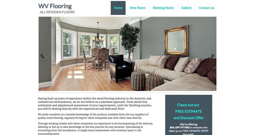 WVFlooring Website 2015