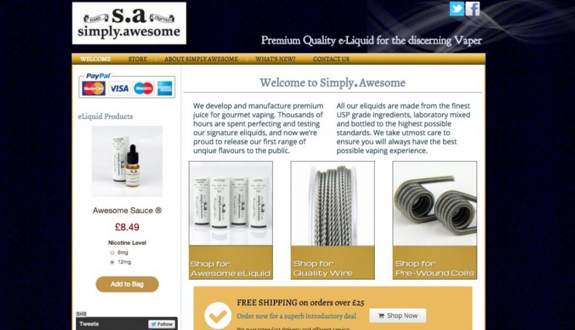 SImply Awesome Website